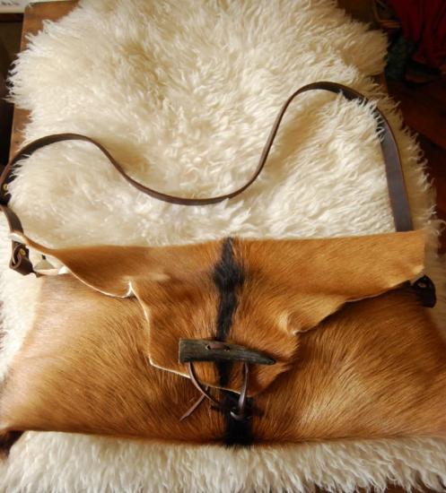 sac peau de chèvre